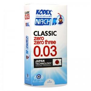 کاندوم کلاسیک ناچ بسیار نازک کدکس 12 عددی