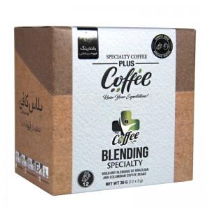 قهوه اسپشالتی بلندینگ پلاس کافی 12 عددی