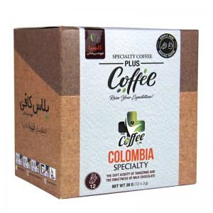 قهوه اسپشالتی کلمبیا پلاس کافی 12 عددی
