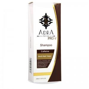 شامپو تقویتی و ضد ریزش کافئین آدرا 200 میلی لیتر