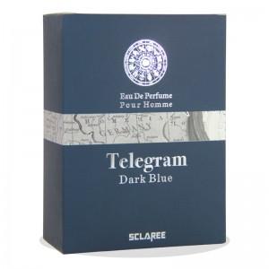 ادکلن ادوپرفیوم Telegram Dark Blue اسکلاره 85 میلی لیتر