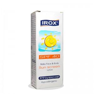 لوسیون ضد آفتاب کودک SPF40 ایروکس 60 میلی لیتر