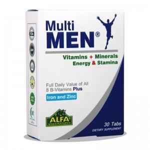قرص مولتی ویتامین مولتی من آلفا ویتامین 30 عددی