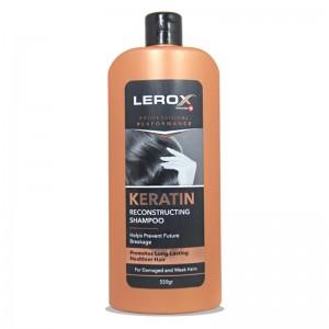 شامپو موی آسیب دیده کراتینه لروکس 550 گرمی