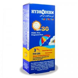 کرم ضد آفتاب SPF30 کودکان هیدرودرم 50 میلی لیتر