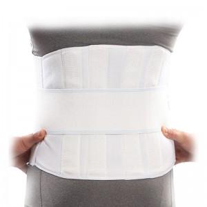 کمر بند طبی سخت با آتل پلی آمید پاک سمن سایز XL