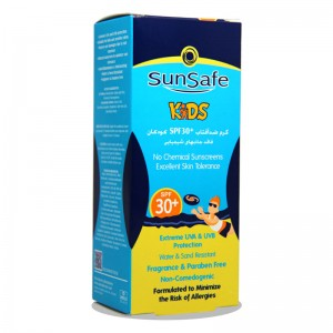 کرم ضد آفتاب SPF30 کودکان سان سیف 50 گرم