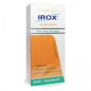 شامپو سباروکس ضد شوره های خشک و مقاوم ایروکس 200 گرم