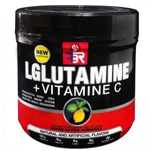 ال گلوتامین طعم لیمو اف بی آر 400 گرم