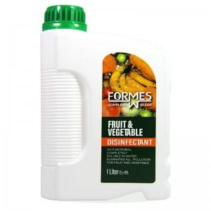 محلول ضد عفونی کننده میوه و سبزیجات فورمس 1 لیتری
