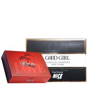 پک هدیه ادکلن و مام رول زنانه نایس مدل Good Girl