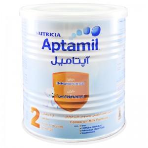 شیرخشک آپتامیل 2 نوتریشیا 400 گرم