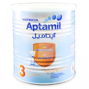 شیر خشک آپتامیل 3 نوتریشیا 400 گرم