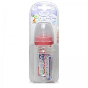 شیشه شیر پیرکس 6-18 ماه دهانه استاندارد وی کر 120 میلی لیتر