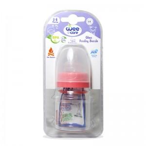 شیشه شیر پیرکس 0-6 ماه دهانه استاندارد وی کر 60 میلی لیتر