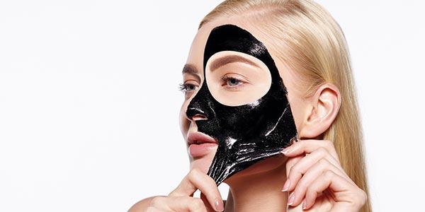 تاثیر ماسک زغال بر پوست