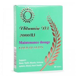قرص ویتامین د3 2000 واحد مولتی نرمال 60 عددی