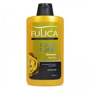 شامپو تثبیت کننده بدون سولفات موهای بلوند فولیکا 400 میلی لیتر