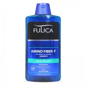 شامپو حجم دهنده بدون سولفات فولیکا حاوی آمینو اسید 400 میلی لیتر