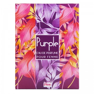 ادکلن ادوپرفیوم زنانه پینک مدل Purple حجم 85 میلی لیتر