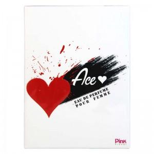ادکلن ادوپرفیوم زنانه پینک مدل Ace Heart حجم 85 میلی لیتر