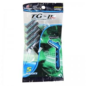 تیغ اصلاح 2 لبه TG-II Plus دورکو 5 عددی