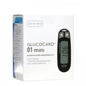 دستگاه تست قند خون گلوکوکارد مدل 01 مینی