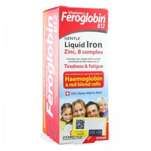 شربت فروگلوبین ب 12 ویتابیوتیکس 200 میلی لیتر