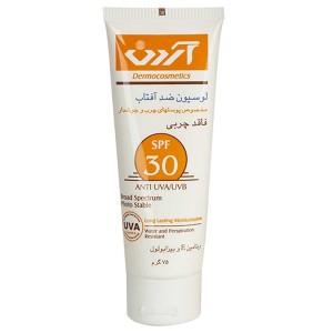 لوسیون ضد آفتاب SPF30 فاقد چربی آردن 75 گرم