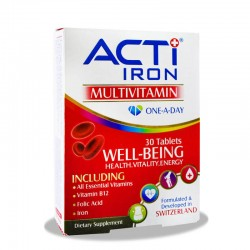 قرص مولتی ویتامین اکتی آیرون 30 عدد