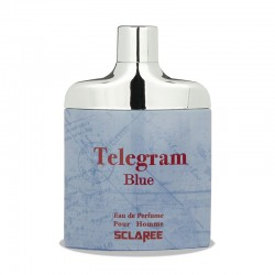 ادکلن ادوپرفیوم مردانه اسکلاره مدل تلگرام آبی حجم 85 میلی لیتر
