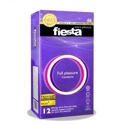 کاندوم خاردار و شیاردار مدل فول پلیشور فیستا 12 عدد