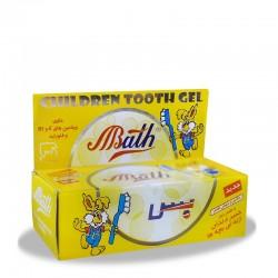خمیر دندان ژلهای کودک  با طعم موز بس 80 میلی لیتر