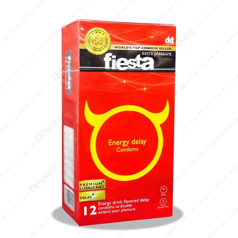 کاندوم تاخیری انرژی زا فیستا 12 عدد
