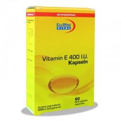 کپسول ویتامین ای 400 یوروویتال 60 عددی
