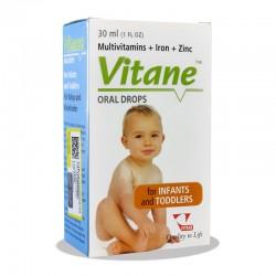 قطره مولتی ویتامین آهن +زینک ویتان 30 میلی لیتر