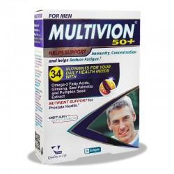 سافت ژل مولتی ویون مردان بالای 50 سال ویتان 30 عدد