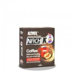 کاندوم تاخیری  قهوه ناچ کدکس  3 عدد