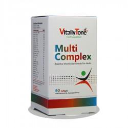 کپسول مولتی ویتامین مولتی کمپلکس ویتالی تون 60 عددی