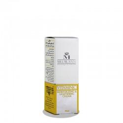کرم روشن کننده و مرطوب کننده حاوی ویتامین سی 20% مدیلن 30 میلی لیتر