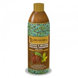 شامپو گیاهی کافئین منتول هسل 400 گرم