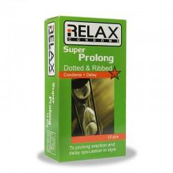 کاندوم سوپر پرولانگ ریلکس 12عددی
