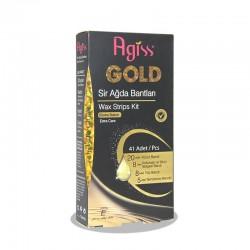 نوارموبربدن آگیس گلد مناسب پوست های معمولی 28 عدد