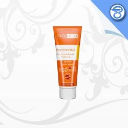 کرم ضد آفتاب فاقد چربی بژ روشن فیس دوکس SPF50