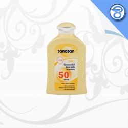 شیر ضدآفتاب  SPF50 کودک سانوسان  200ml