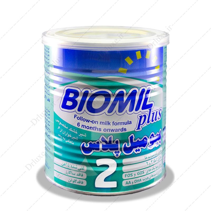 شیرخشک بیومیل پلاس 2 فاسکا 400 گرم