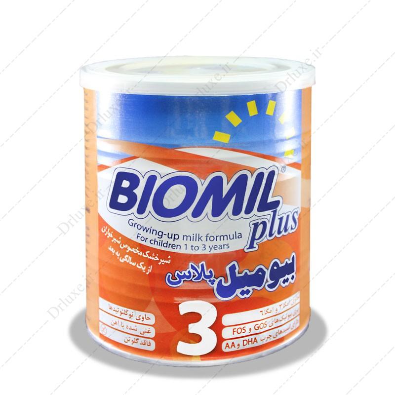 شیرخشک بیومیل پلاس 3 فاسکا 400 گرم