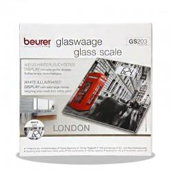 ترازوی شیشه ای بیورر مدل GS203 لندن