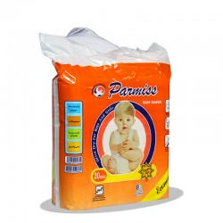 پوشک بهداشتی بچه پرمیس سایز بزرگ بسته 20 عددی