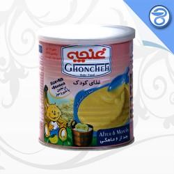 غذای کودک برنجین با شیر و موز غنچه 400 گرم